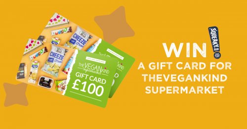 Squeaky Giveaway THEVEGANKIND